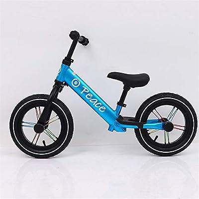 Bicicleta de equilibrio Equilibrar bicicleta para niños Deportes ligeros 12 pulgadas Sin pedal Bicicleta con manillar