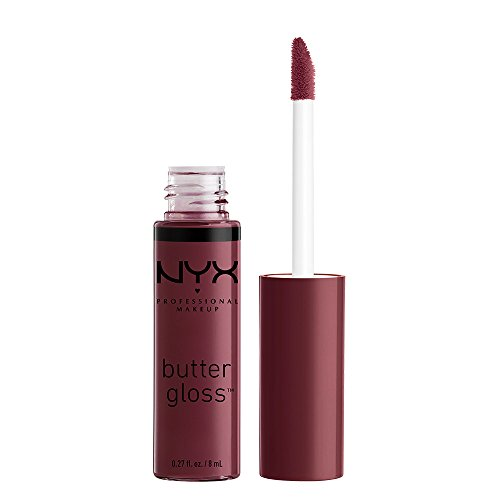 NYX PROFESSIONAL MAKEUP Butter Gloss, Devil's Food Cake, 0.2