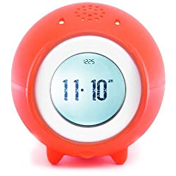 Tocky MP3 Voice Recording Alarm Clock, Red - Last Chance