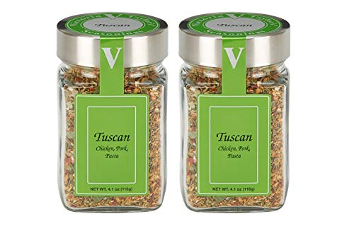 (Tuscan 2 Pack- Blend of red pepper, rosemary, and toasted sesame.)