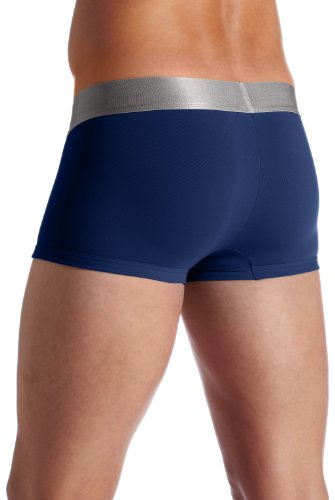 Calvin Klein Men's Underwear Steel Micro Low Rise Trunks, Dark Midnight, Medium