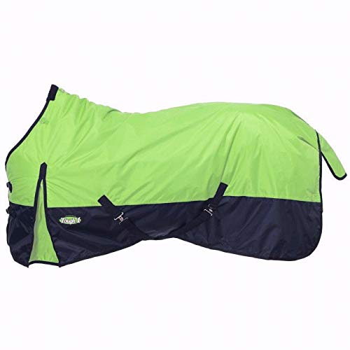 - Tough-1 420 Denier Turnout Blanket 150g 81In Lime