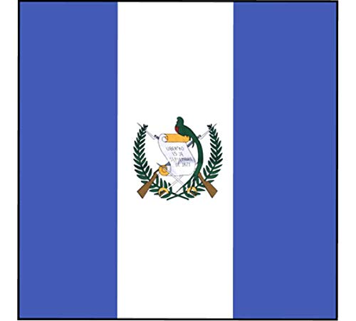 (BUNFIREs ONE Guatemala Flag Guatemalan Bandana Bandanna Biker DURAG Head WRAP Scarf Large Size: 22 X 22 Guatemalas)