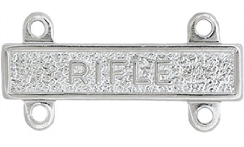 Qualification Bar Metal - Non-Subdued (Shiny) - Full Size. RIFLE