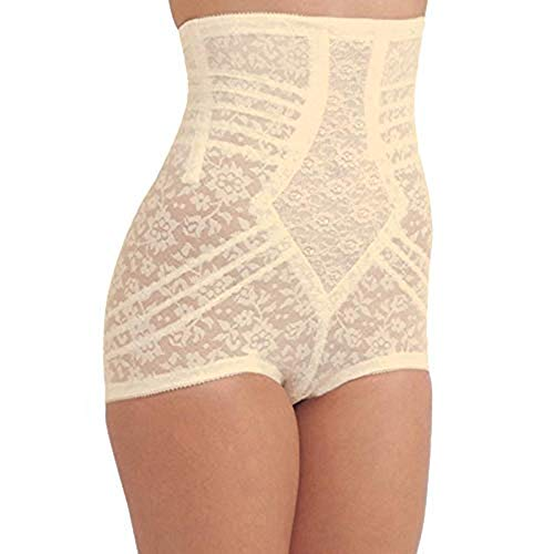 Rago Style 6107 - High Waist Extra Firm Shaping Panty Brief, M/28 Beige