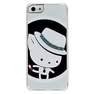 GHK - Cartoon Kitten Pattern Hard Case for iPhone 5/5S