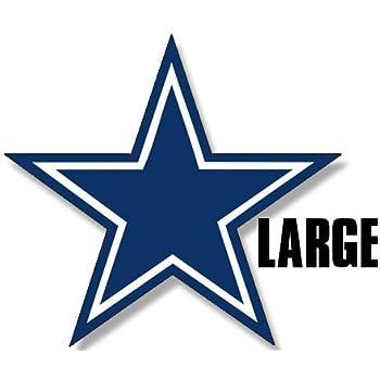 Amazon American Vinyl Large Blue Star Dallas Cowboys Colors