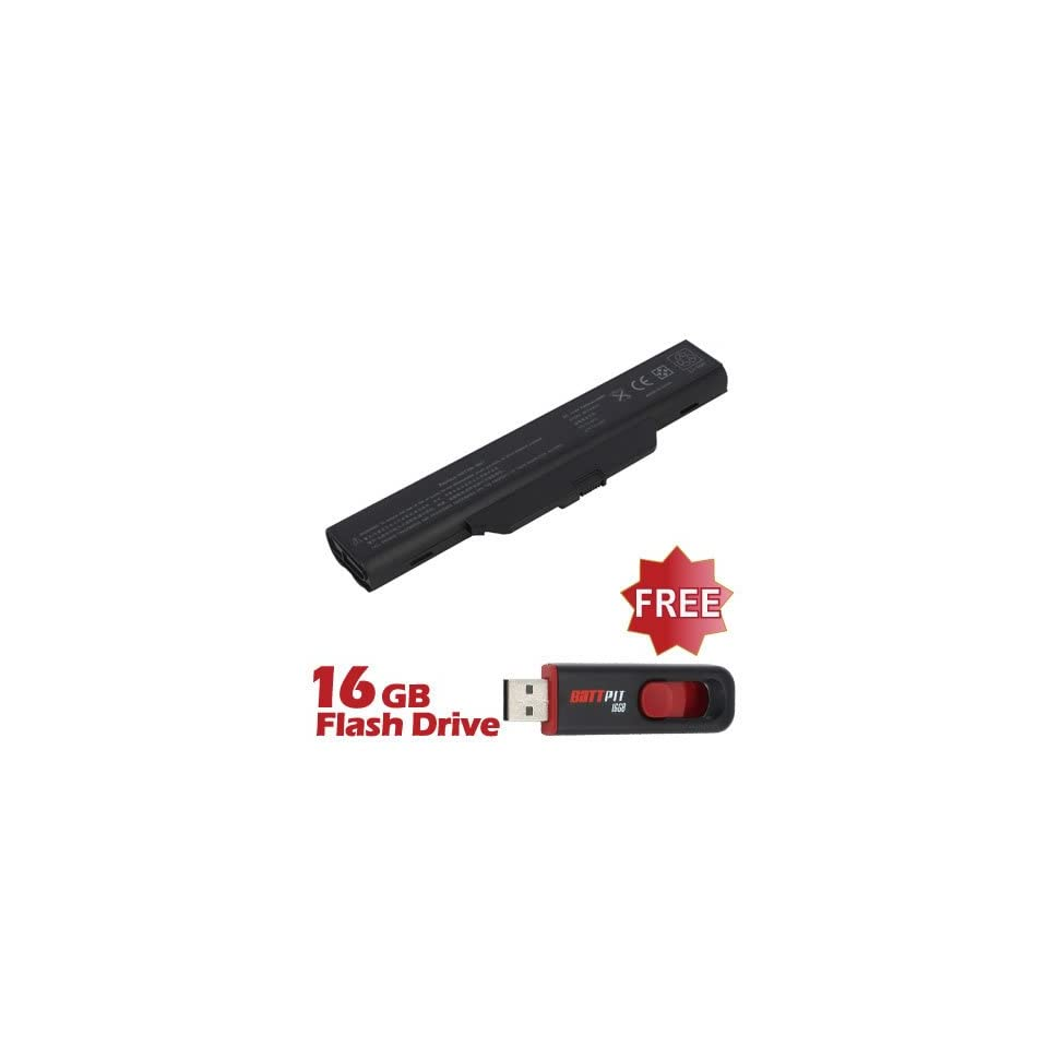Battpit™ Laptop / Notebook Battery Replacement for HP 451086 661 (4400mAh / 48Wh) with FREE 16GB Battpit™ USB Flash Drive
