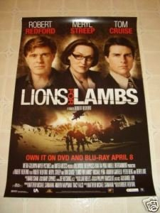 amazoncom lions for lambs movie poster 27x40 brand new