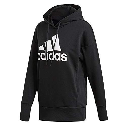 adidas Womens W Bos Long Hd Hooded Sweatshirt
