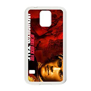 HGKDL He Will Rock You Fashion Comstom Plastic case cover For Samsung Galaxy S5