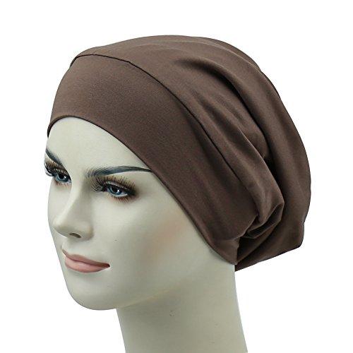 Lightweight Sleep Cap for Frizzy Hair Satin Lined Headwear Feminine Night Headcover