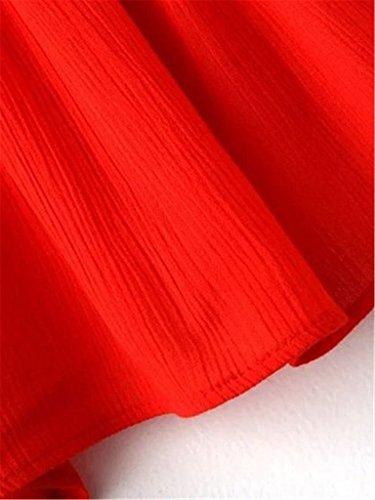 Tailloday - Tankini - para mujer Style-1-Red