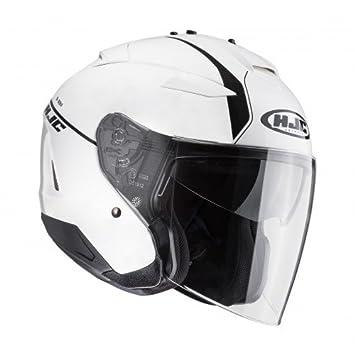HJC 118410 X S Casco Moto, Blanco, XS