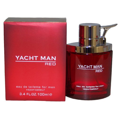 Yacht Man Red par Myrurgia Eau De Parfum Spray for Men, 3,40 once