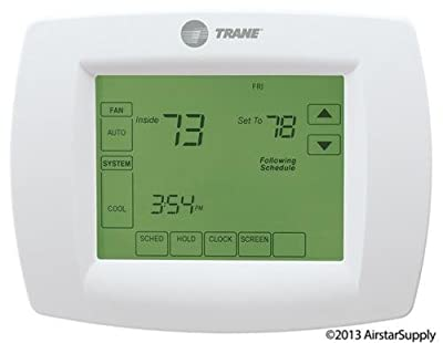 Trane Multi-Stage Thermostat 7-Day Programmable Touchscreen Thermostat , TCONT802AS32DAA / TH8320U1040 / THT02478