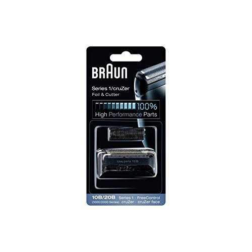 Braun Razor Replacement Foil & Cutter Cassette 10B 20B 180 190 1735 1775 5728 5729 170S (1000/2000 Series) 10B 20B by Braun ()