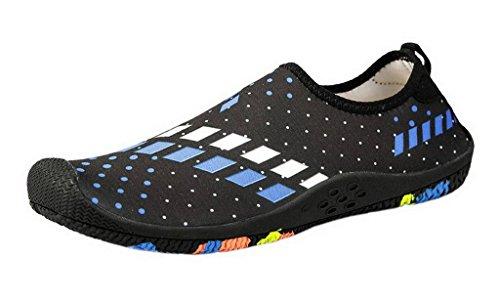 d'eau Antidérapance Rapide Respirant Bleu Noir Sport Chaussure Chausson Jixin4you Séchage g4nUCqEg