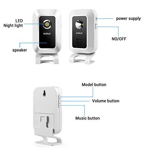 Kerui Wireless Doorbell Alert Alarm System Home Business