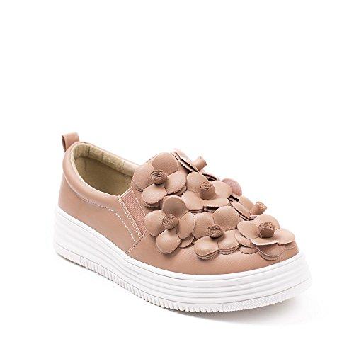 Ideal Shoes, Damen Ballerinas Rose
