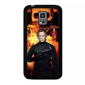 Classic Style Spectre 007 Funda,007 Spectre Funda Black Hard Plastic Case Cover For Samsung Galaxy S5 MINI