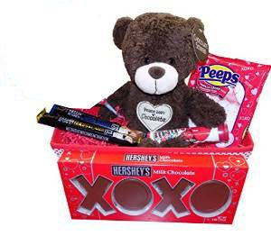 ultimate chocolate lovers valentines day gift basket idea for him or her kids or adults - Valentines Day Gift Basket Ideas