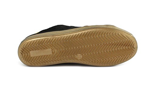 Galaxy MELINE Nero 1783 Sneaker Giallo Velam ORO Nero Cav IRw6Brqw