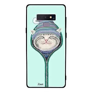 Samsung Galaxy Note 9 Cat Zipped