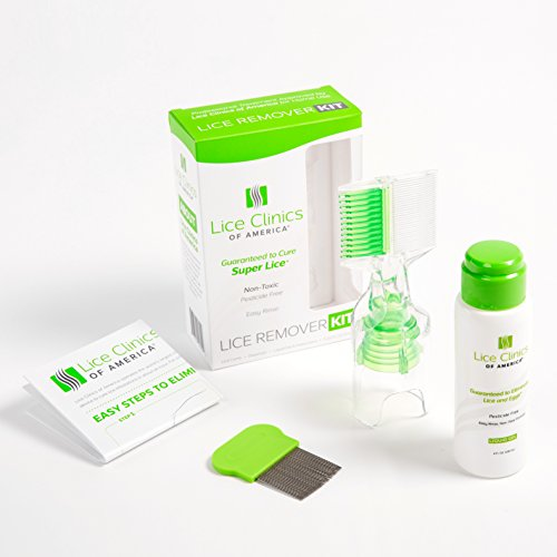 Lice Remover Kit Guaranteed to Cure Lice, Even Super Lice—Safe, Non-Toxic and (Lice Treatment Kit)
