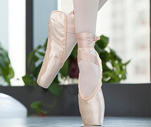 Ballet Adultes Ballet Chaussures Danse U 2 Satin Yoga Chaussures Danse Toile Gymnastique Danse LUCKY Paires Enfants Chaussures Gymnastique Ballet xXqF655