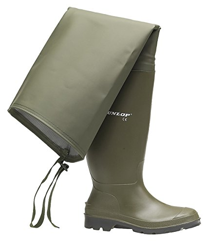 Shoesbyclaire Mens Gents New Green Thigh High Fishing Wader