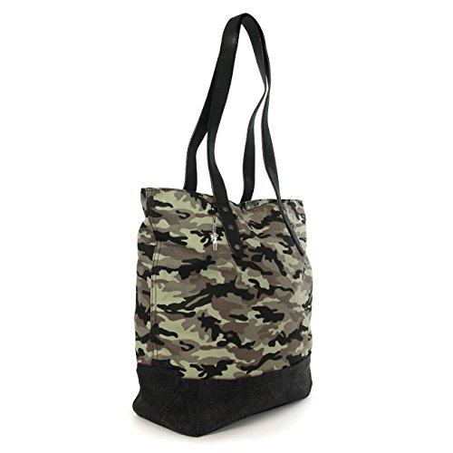 BAG STREET elegante Tasche XXL Damentasche Schultertasche Clutch  Beuteltasche Shopper Bag NAVY- by Beauty- ... 2970d0faa6