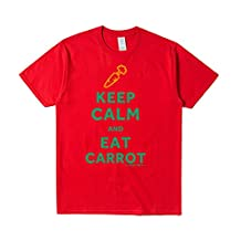 ReRabbit keep calm and eat CARROT Tee Shirts For Mens