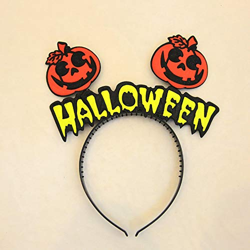 MOKO-PP Baby Girls Halloween Headband Hair Head Hairband Photography Props(A) -