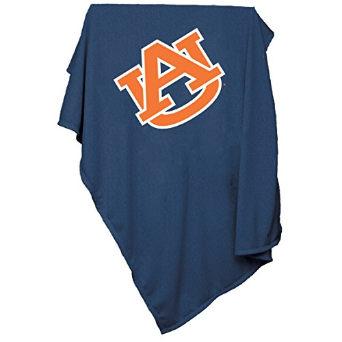 Auburn Tigers Fleece Throw (Logo Brands NCAA Auburn Tigers Sweatshirt Blanket)