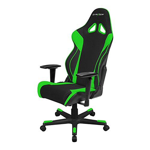 DXRacer RW106/NE Racing Series Racing Bucket Seat Office Chair Gaming Ergonomic with Lumbar Support DXRACER