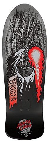 Santa Cruz Obrien Reaper Metallic Fade Reissue Skateboard Deck Assorted 9.85in x (Santa Cruz Deck)