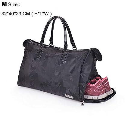 e983708d874d Amazon.com: CLHFJ Fitness Shoulder Gym Bag for Shoes Waterproof ...
