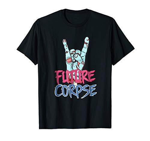 Future Corpse Funny Halloween Costume t Shirt For Men Women