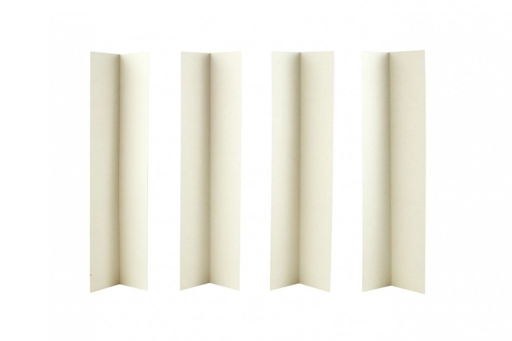 "WINDSOR 12"" WHITE CAKE BOX EXTENSION CARD X 4 WINDSOR CRAFT"