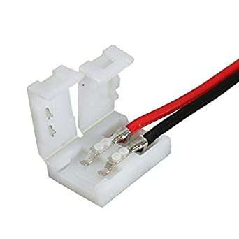 Aashish Electrical LED Strip Connect Splice Power Connector ... on electrical motor controllers, electrical transformers, electrical guard, electrical conductor, electrical cable, electrical load center, electrical tape, electrical tools, electrical foam, electrical box, electrical switch, electrical wiring, electrical safety, electrical conduit, electrical plug, electrical cord, electrical switches, electrical steel coils, electrical pole, electrical socket,