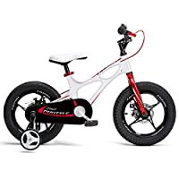 RoyalBaby Space Shuttle Kids Bike for Boys and Girls, 14 16 18 Inch Magnesium Bicycle with 2 Hand Disc Brakes, Child