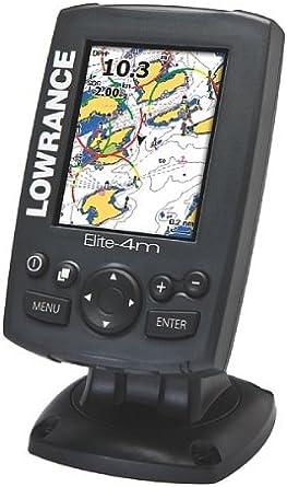 Lowrance Elite-4M GPS-trazador: Amazon.es: Electrónica