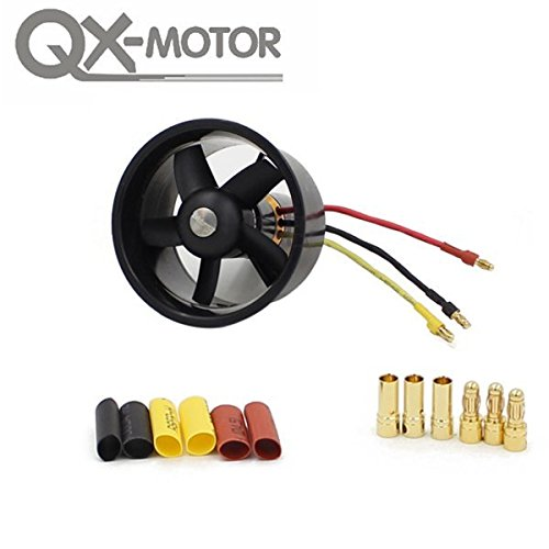 SICA QX-Motor 64mm 5 Blades Ducted Fan With 4300KV 3-4S QF2822 Brushless Motor (Motor Os 61 compare prices)