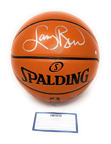 d3ca79ae1d9 Larry Bird Boston Celtics Signed Autograph NBA Game Basketball Silver Steiner  Sports Certified