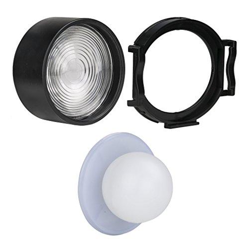 Light & Motion Stella Light Modifier Kit for Stella 2000 and Stella Pro 5000/7000/10000c (Glo Lens)