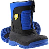 ArcticShield Kids Waterproof Insulated Warm Comfortable Durable Easy On/Off Winter Snow Boots (Toddler/Little Kids/Big Kids)
