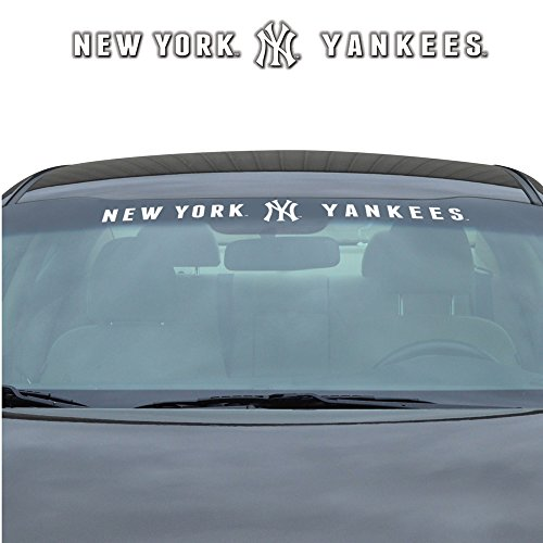 New York Yankees MLB Sports Team Logo Car Truck SUV Front Windshield Window Graphic Decal