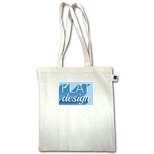 Nerd E Geek - Design Piatto - Unisize - Natural - Xt600 - Manico Lungo In Juta Bag