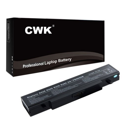 CWK New Replacement Laptop Notebook Battery for Samsung NP305V5A-S07AU NP300E5A-A04CA NP300V5A-S0ACA AA-PB9NC6B NP300E5A-A03US NP300E5A-A02UB NP305E5A-S05CA AA-PB9NC6B NP300V5A-A0KUS NP300V5A-S02UK NP